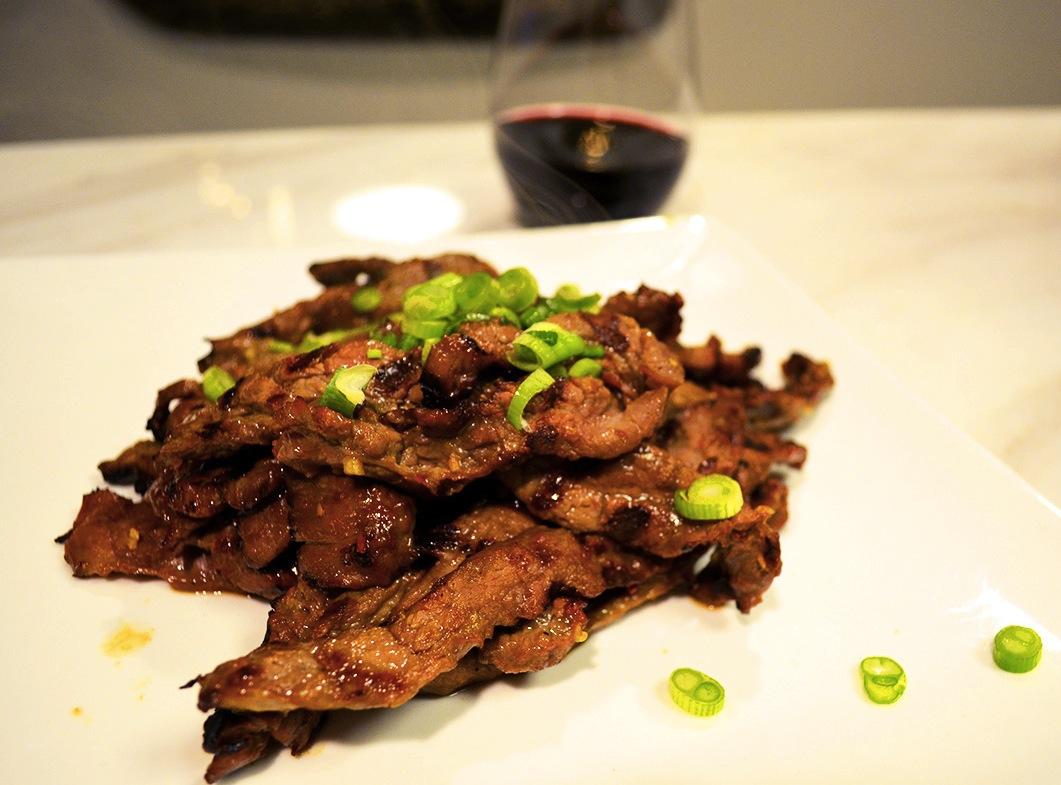 Korean Marinated Flank Steak - The Juice | Club W