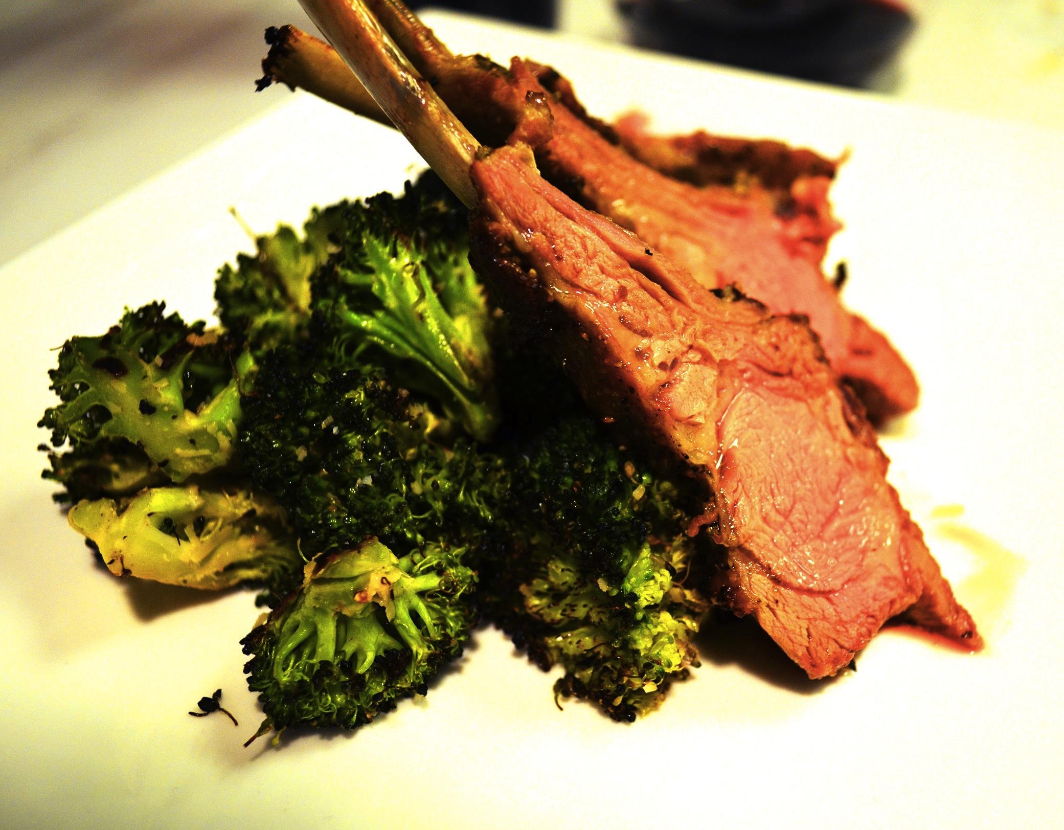 Roasted Rack of Lamb - The Juice | Club W