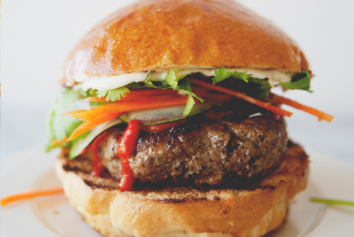 Brisket Bahn Mi Burger
