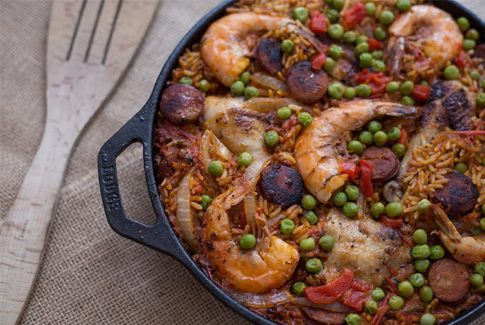Jollof Rice Paella