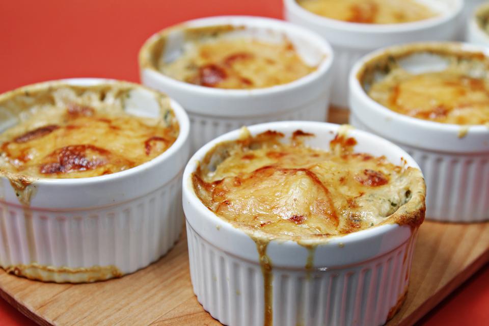 Shiitake Mushroom & Yukon Gold Potato Gratin with Fresh ...