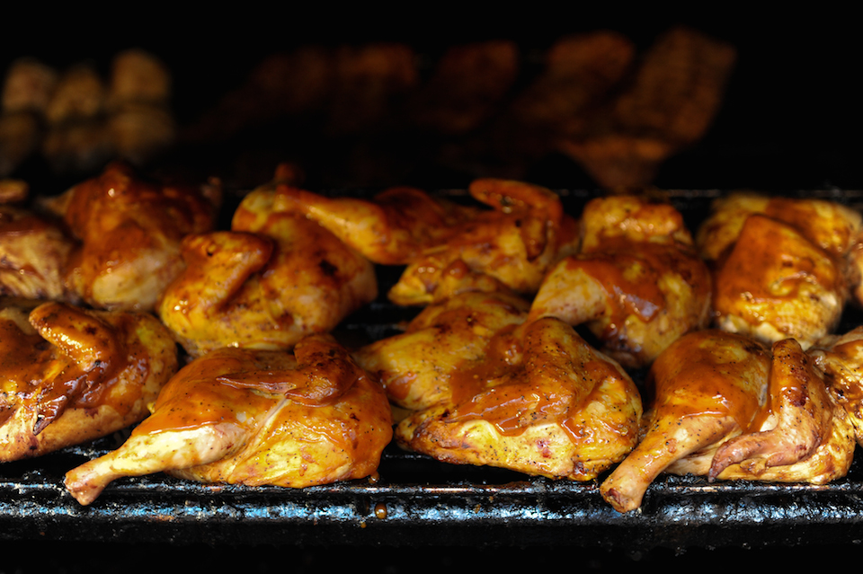 South Carolina-Style Barbecue Chicken