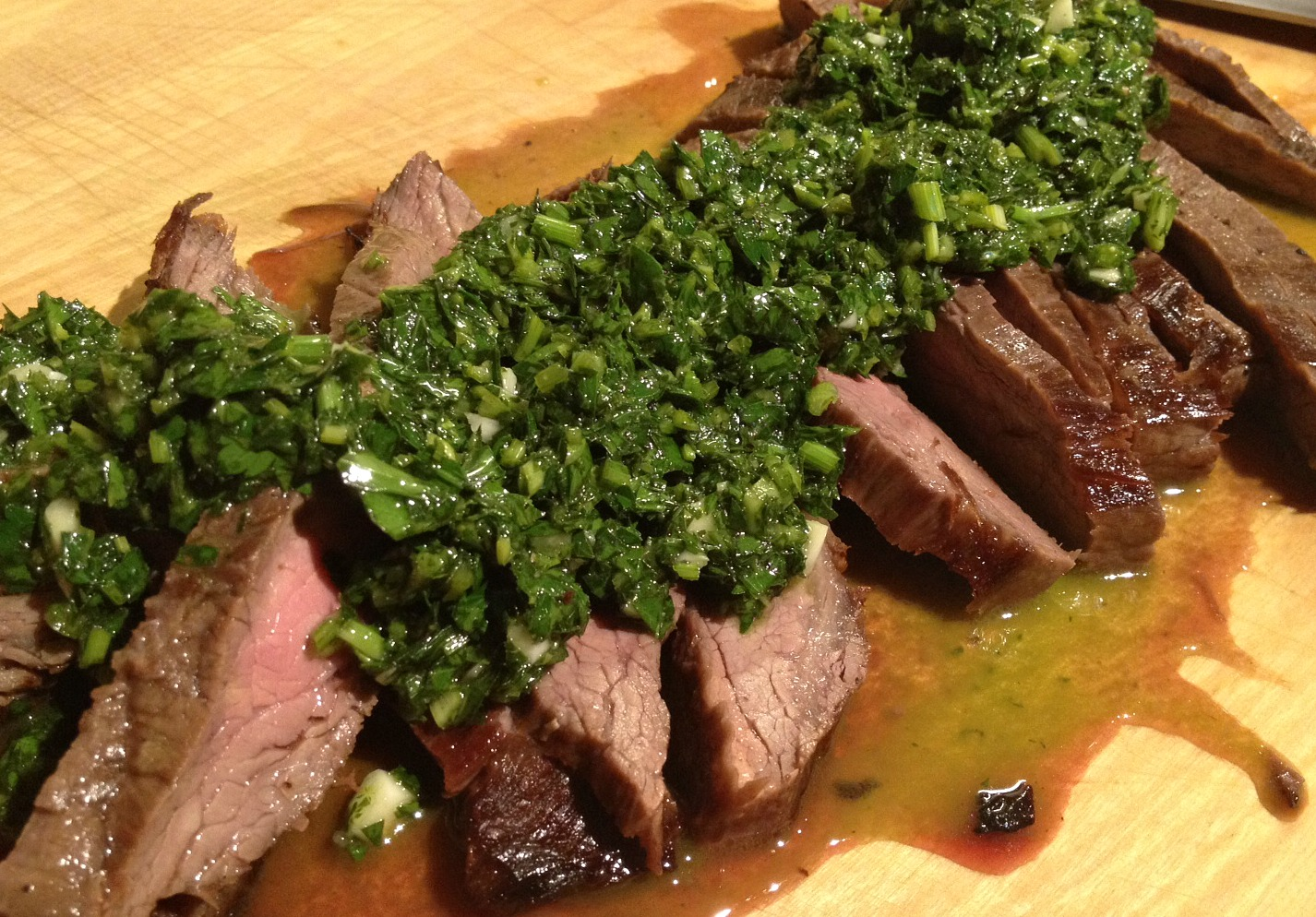 Chimmichurri Flank Steak