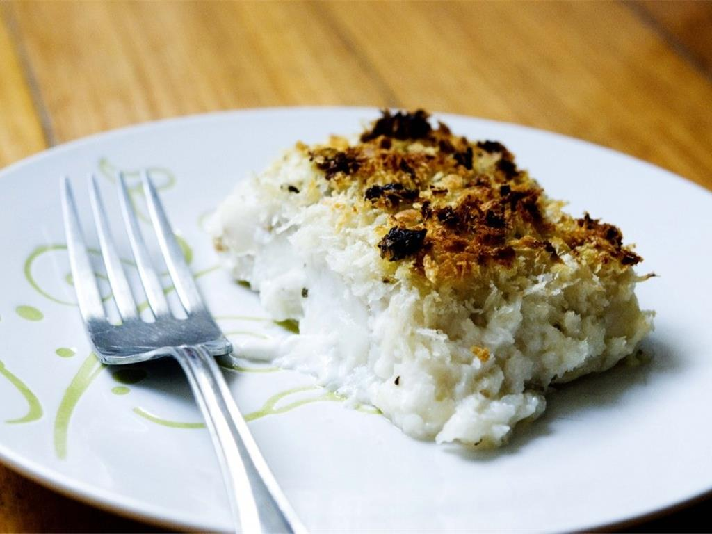 Lemon Baked Cod Fish