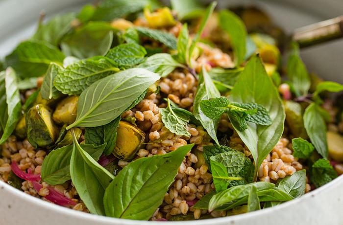 Vietnamese Farro Salad