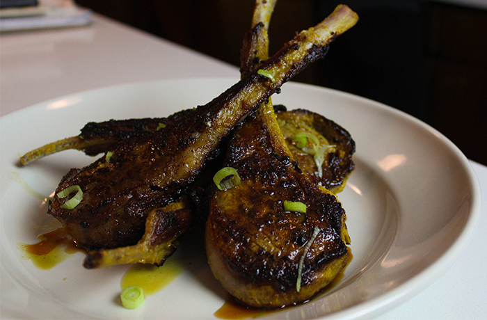 Zippy, Aromatic Lamb Chops