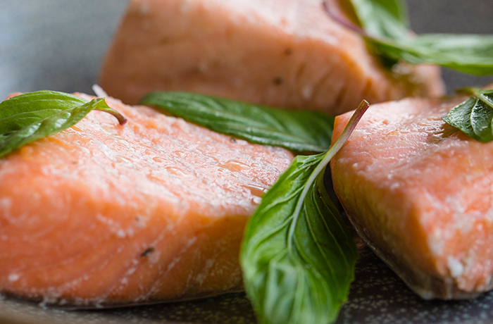 Olive Oil-Poached Salmon