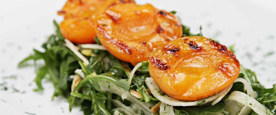 Wine Pairing Recipe: Grilled Apricot & Fennel Salad