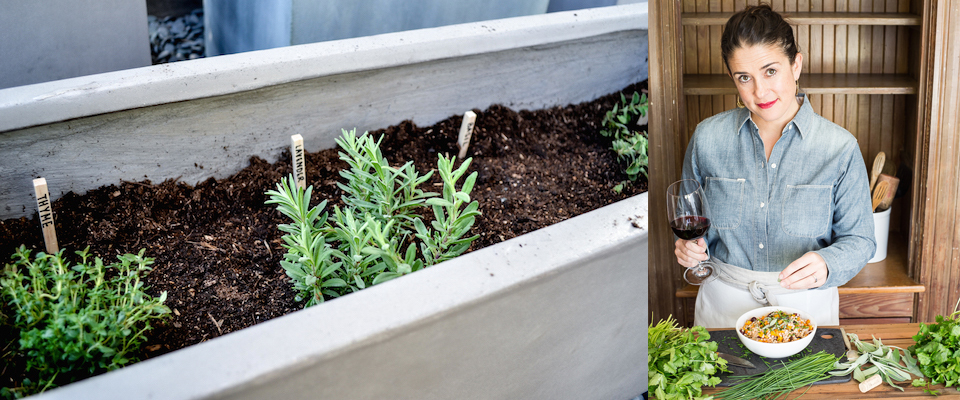 How To Plant an Herb Garden & Pair Herbs with Wine