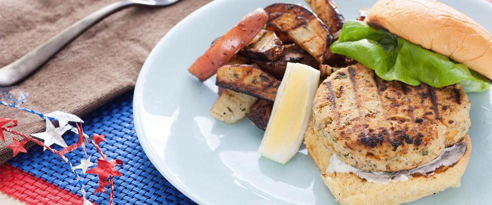 Wine Pairing Recipe: Chickpea Veggie Burgers
