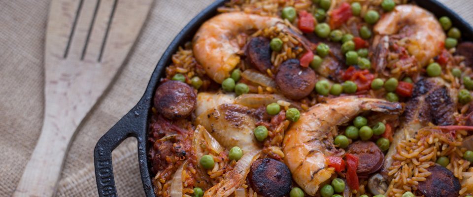 Wine Pairing Recipe: Jollof Rice Paella