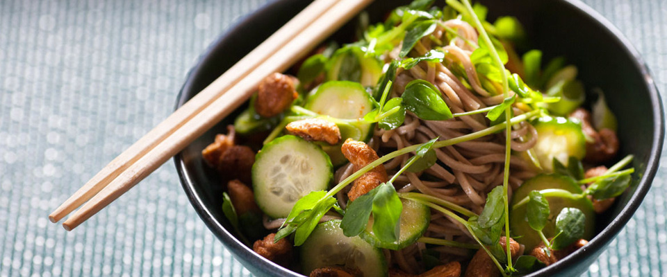 Wine Pairing Recipe: Chilled Soba Noodle Salad