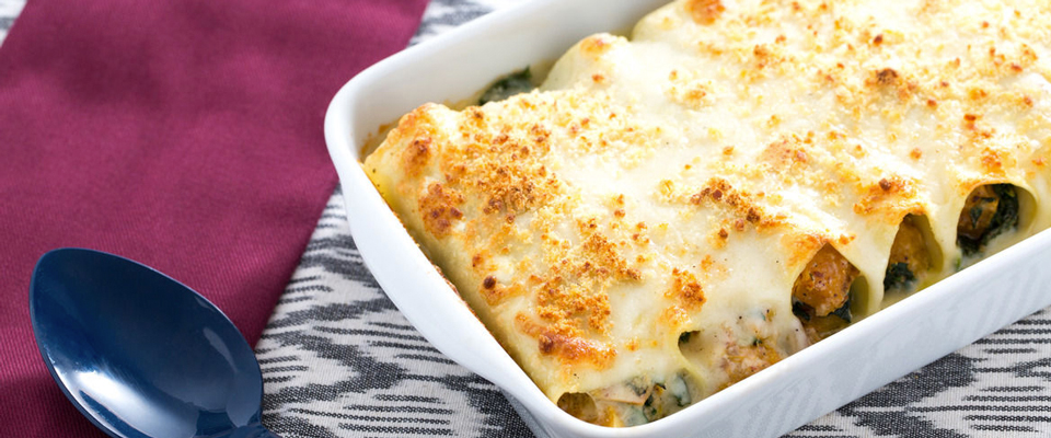 Wine Pairing Recipe: Cheese Cannelloni