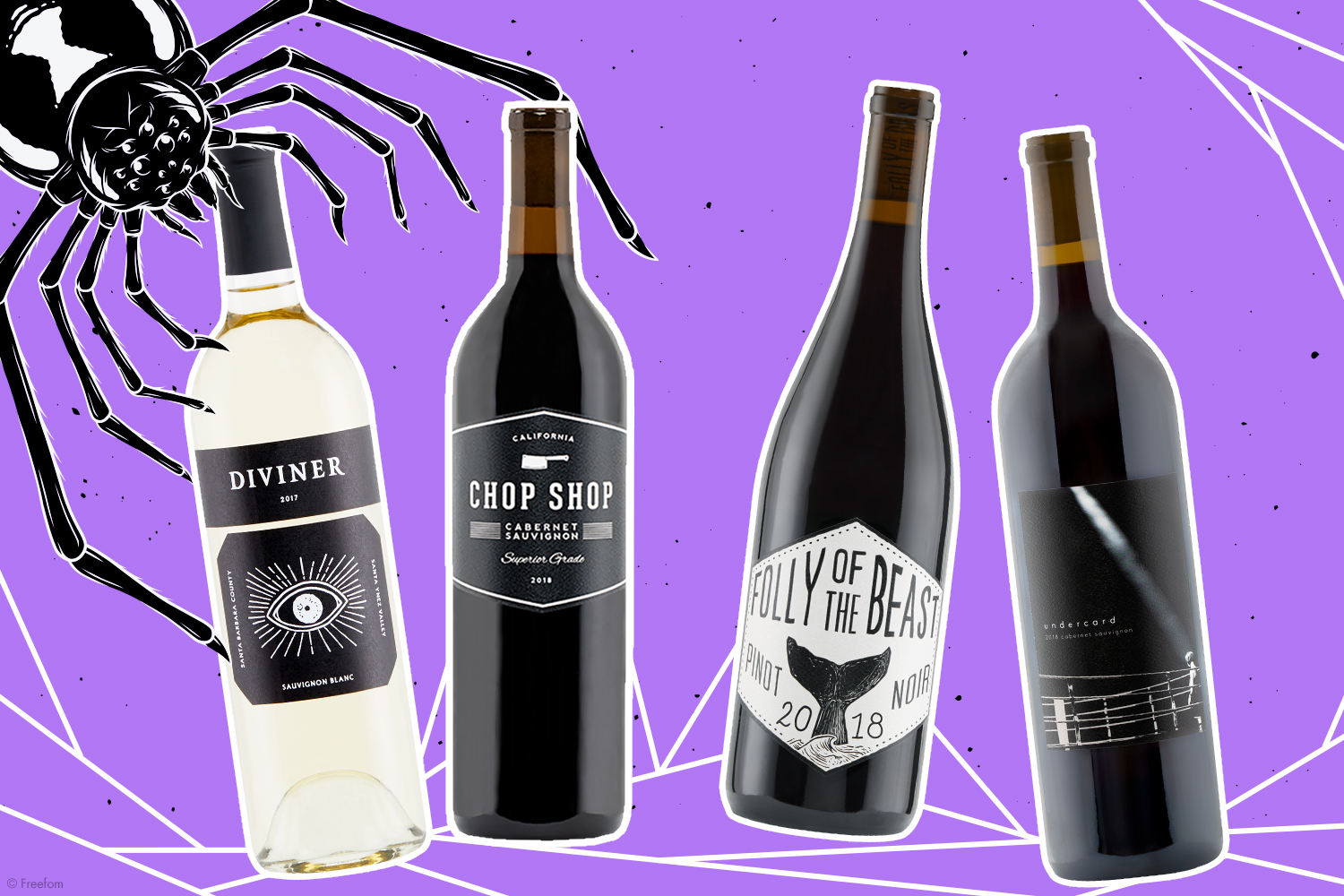 4 Wines for Your Halloween Movie Nights