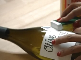 Wine Workshop: How to Make Oil & Vinegar Bottles