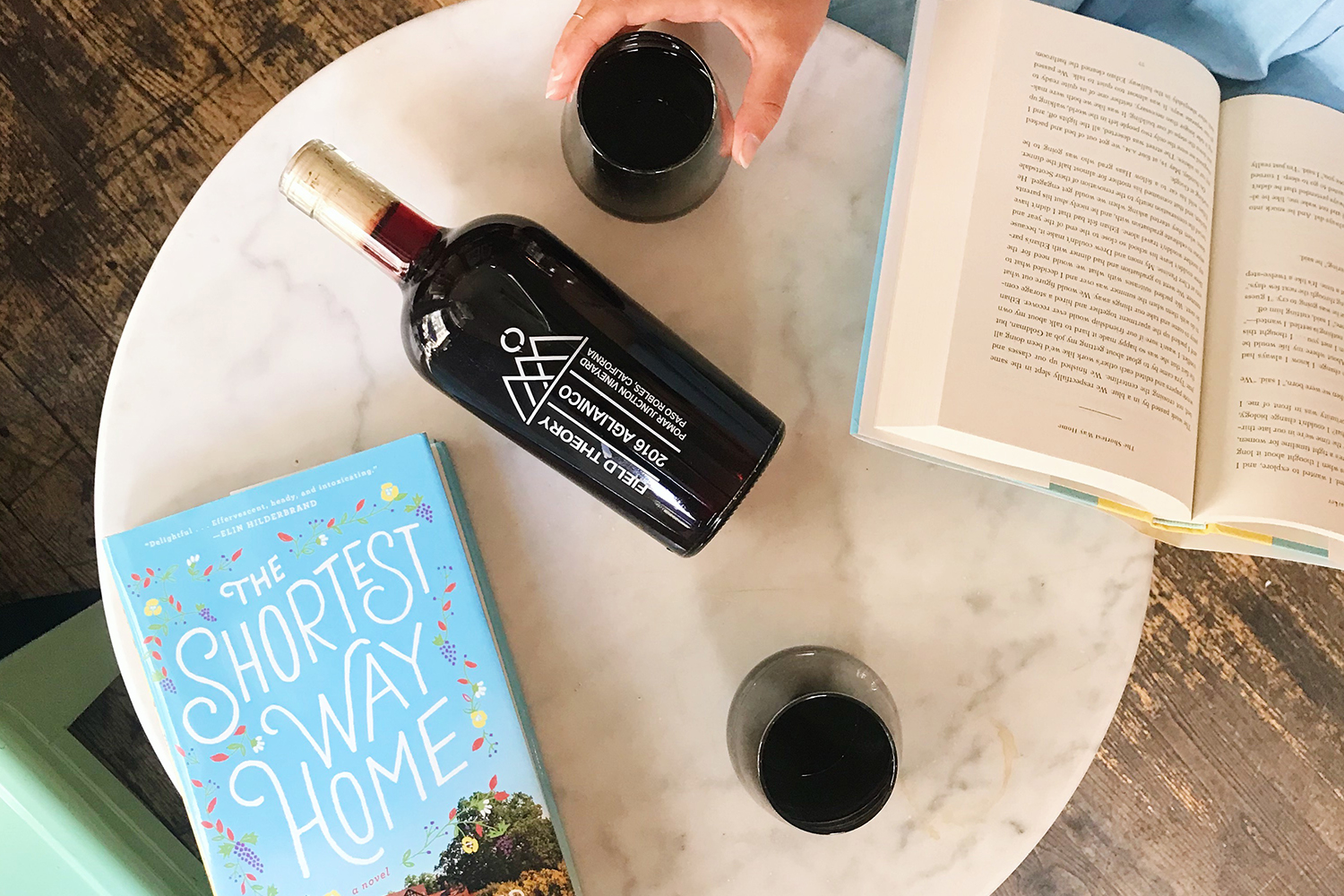 The Only Book And Wine Pairing You Need This Month
