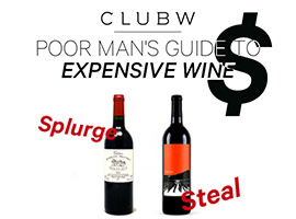 Steal vs. Splurge: Poor Man's Guide To Expensive Wine