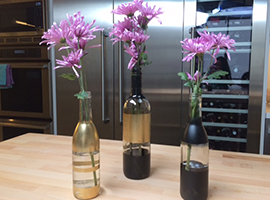 Wine Workshop: How to Make Flower Vases