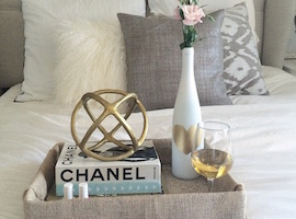 Wine Workshop: How to Make a Decorative Tray