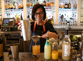 An Interview with Mixologist Cari Hah, the Genius Behind Our New Summer Water Cocktail