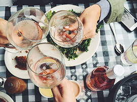 Cheese, Brunch, & Rosé // A Love Story