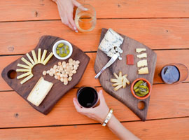 An Americana Appetizer: How to Make a 4th of July Cheese Plate