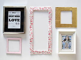 Wine Workshop: How to Make Picture Frames
