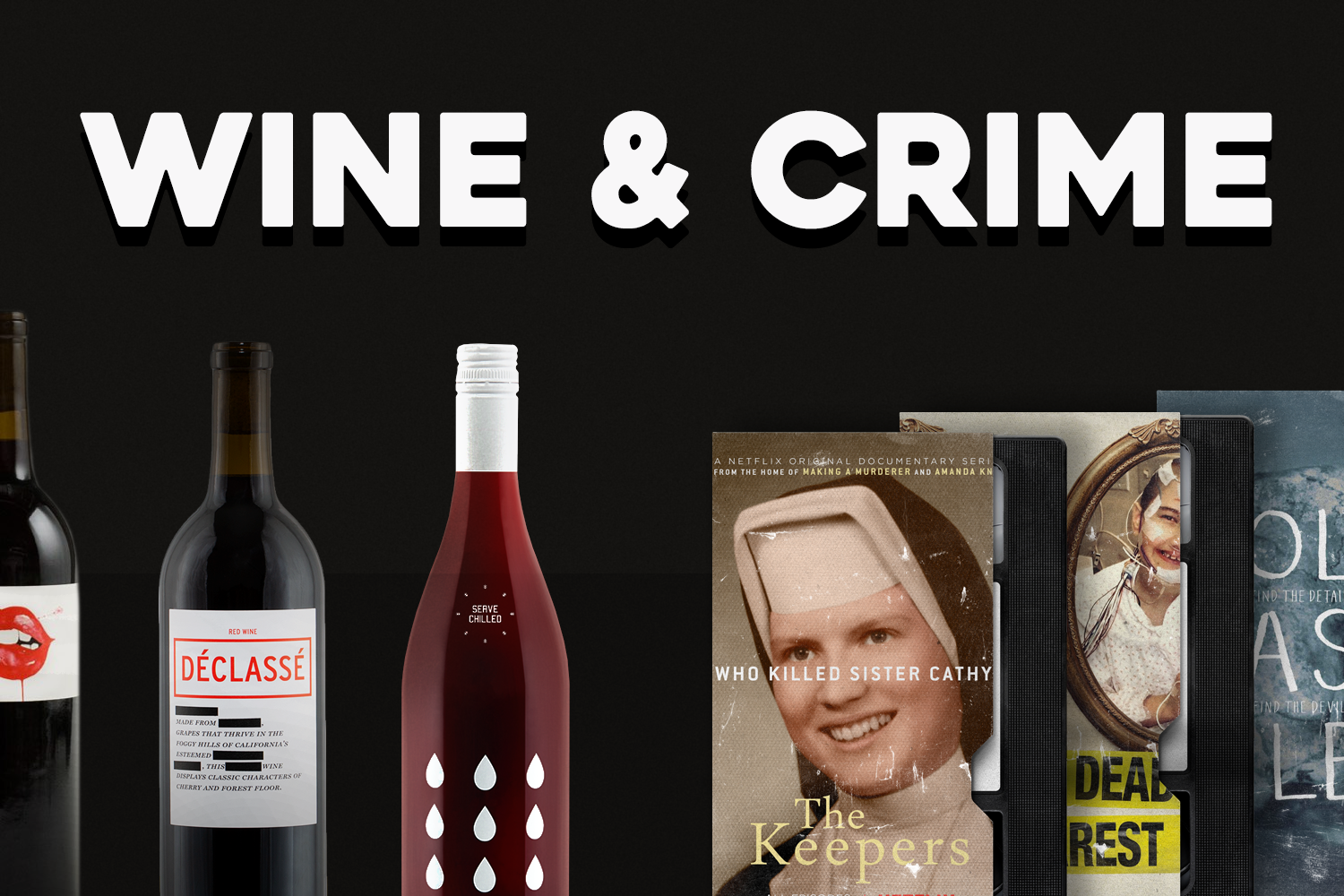 Your Wine & Crime Pairings for Spooky SZN