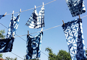 Wine & Indigo Dyeing with Lux Eros