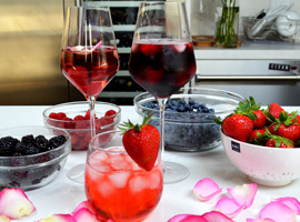 3 Wine Cocktails for Valentine's Day